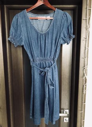 Джинсовое платье john baner