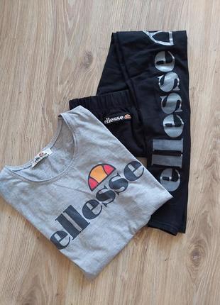 Комплект лосины футболка ellesse