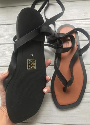 Кожаные сандалии3 фото