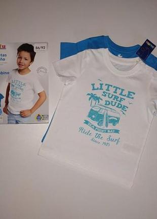 Набір футболок lupilu2 фото