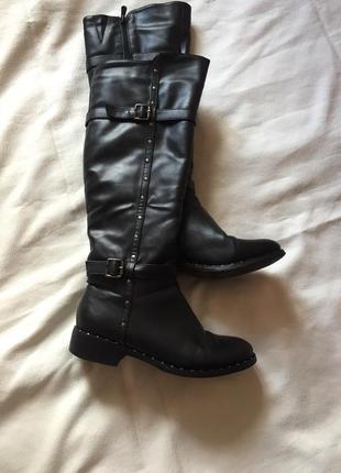 Распродажа 🔔сапоги кожаные зима ❄️1 фото