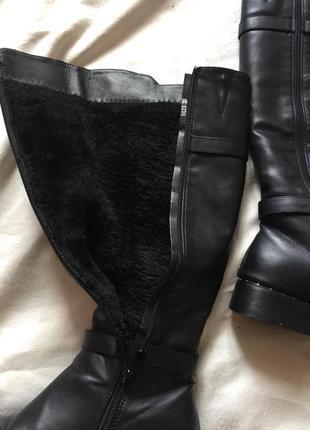 Распродажа 🔔сапоги кожаные зима ❄️3 фото