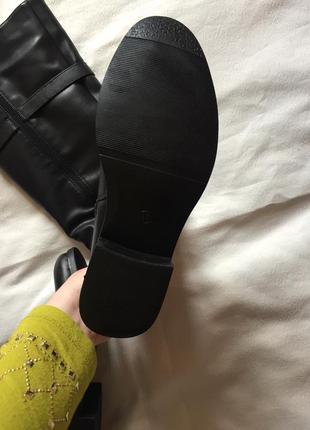 Распродажа 🔔сапоги кожаные зима ❄️4 фото