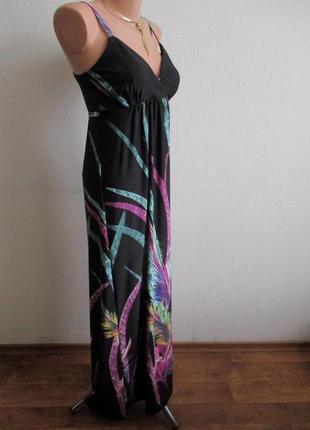 Длинное трикотажное макси платье в пол select3 фото