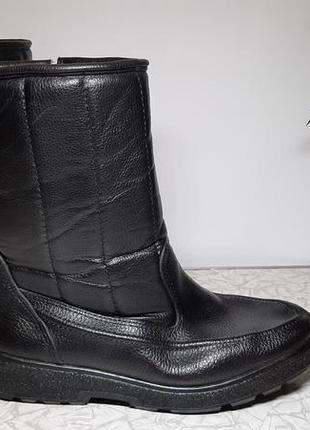 Мужские кожаные сапоги,ботинки,италия