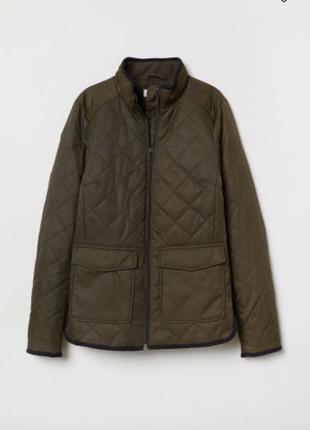 Курточка стеганая ветровка h&m