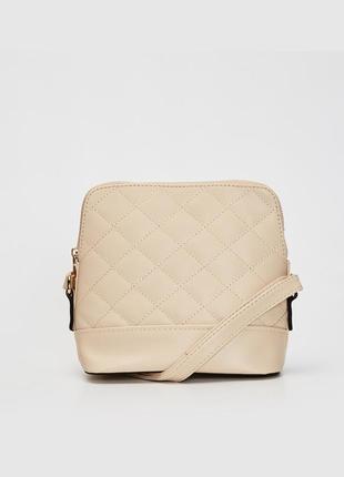 Новая сумочка на молнии с длинным ремешком