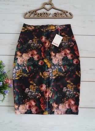 Кожаная юбка (экокожа) louche 8( xs)