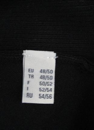 Базовый черный кардиган-накидка из вискозы tcm tchibo9 фото