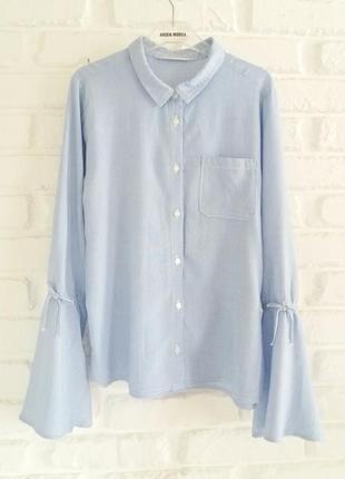 Рубашка#блуза вискоза h&m 14лет