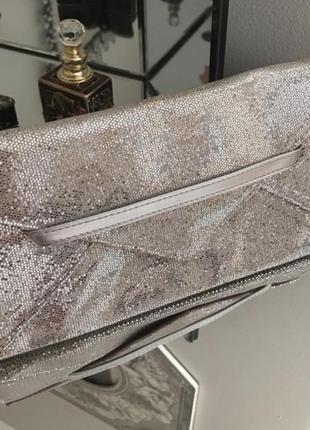 Victoria's secret срібний клатч