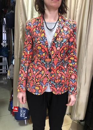Пиджак zara woman нарядный
