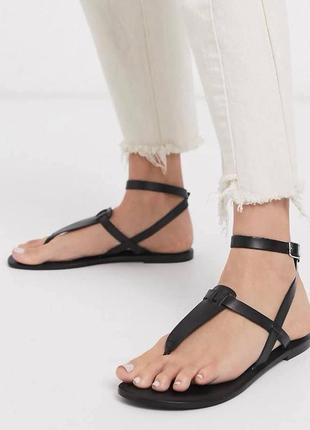 Кожаные сандалии6 фото