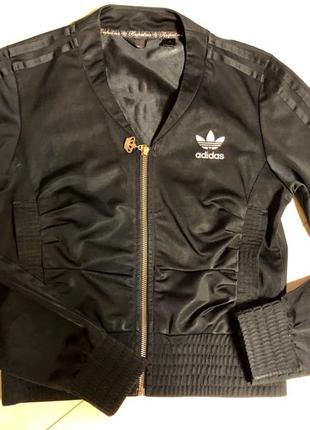 Спортивная кофта/кофта адидас оригинал /бомбер/кофта на замке/adidas