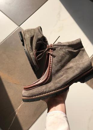 Полностью натуральная кожа, оригинальные итальянские ботинки