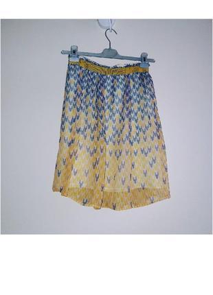 Tara jarmon шелковая юбка
