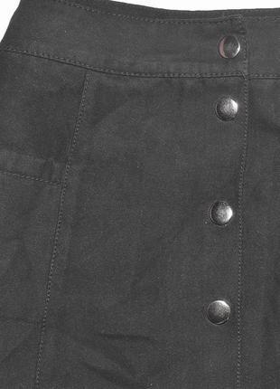 Новая юбка с карманами под замшу divided by h&m4 фото