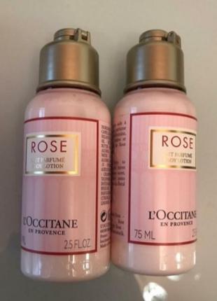 L'occitane парфумоване молочко для тіла троянда 75 мл