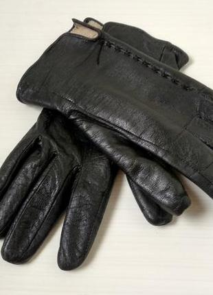 Женские кожаные перчатки размер 7