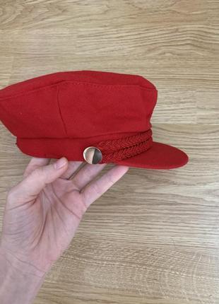 Новая кепка фуражка берет zara