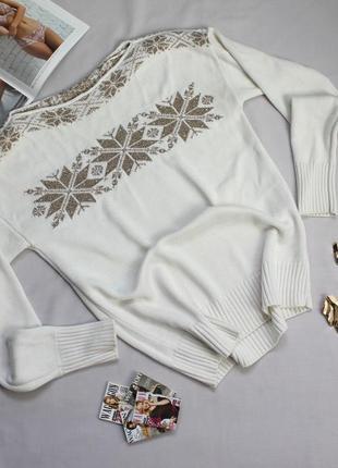 Белый свитерок размер хс