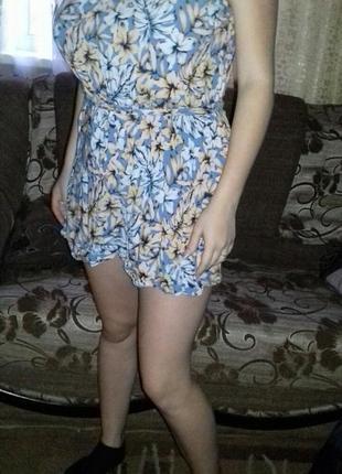 Ромпер-платье