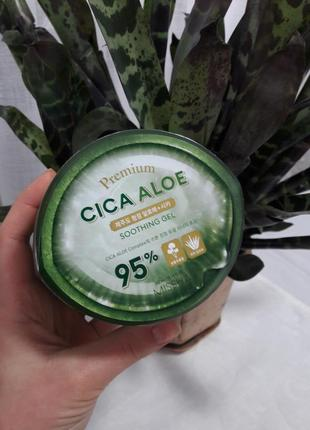 Гель алоє missha premium cica aloe sothing gel 95%