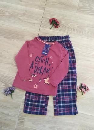Пижама хлопковая  lupilu