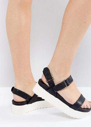 Босоножки сандалии на платформе new look
