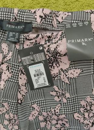 Шикарні широкі штани кюлоти з високою посадкою від primark