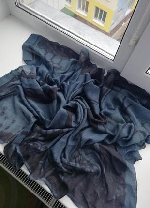 Красивий фірмовий шарф німецького бренду becksondergaard!!! оригінал!!!