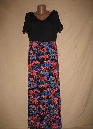 Вискозное платье so fabulous р-р14