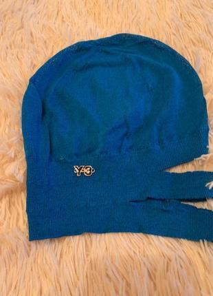 Дизайнерская брендовая шапка yohji yamamoto by adidas, новая, оригинал, р-р 57 cm