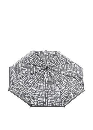 Женский механический зонт baldinini 611 черно-белый