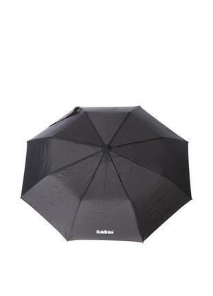 Женский зонт-полуавтомат baldinini 5583 черный с красным