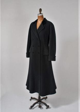 Laura ashley,дизайнерское шерстяное пальто  винтаж