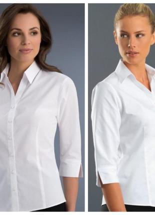 Peacocks классическая белая блуза, р.8-36, s-ка