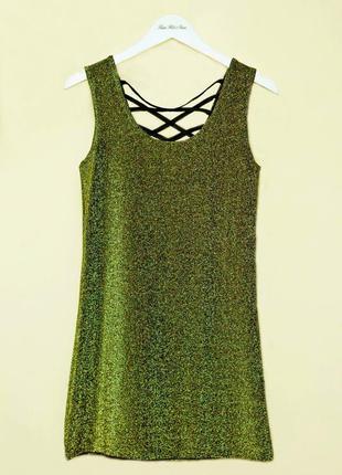 Золотое платье от forever 21