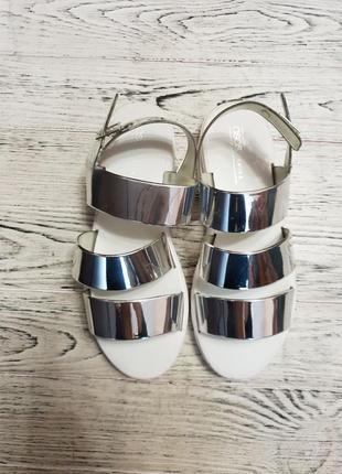 Силиконовые сандалии босоножки на платформе асос asos3 фото