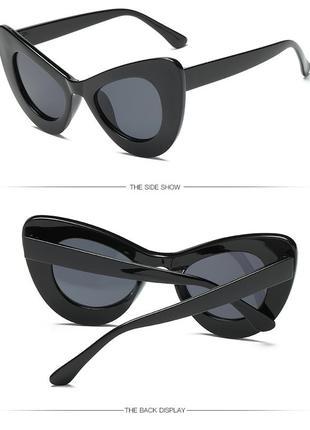 21 ультрамодные солнцезащитные очки кошачий глаз