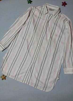Хлопковая рубашка туника