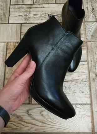 Hallhuber, классические кожаные ботинки, ботильоны с замками