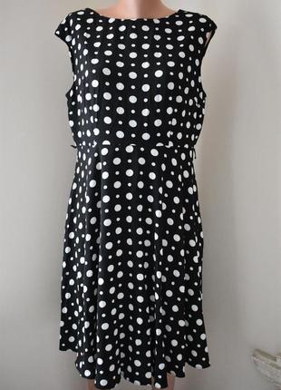 Новое платье в горошек wallis