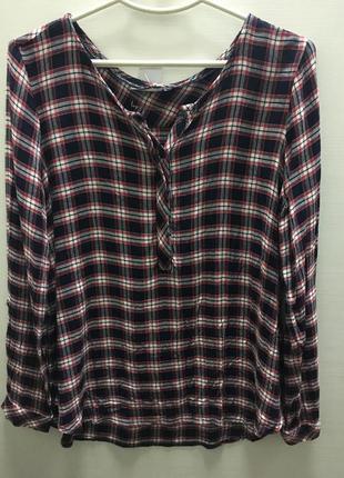 Рубашка женская плотная вискоза