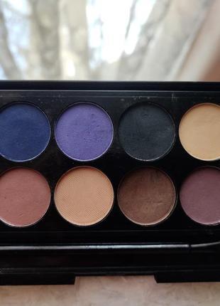 Палетка теней sleek матовая i divine eyeshadow palette ultra matte v2