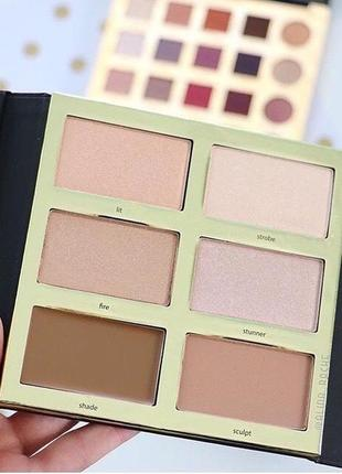 Хайлайтеры  tarteist  highlight & contour palette