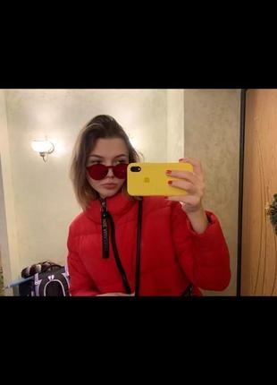 Цветные , прозрачные очки