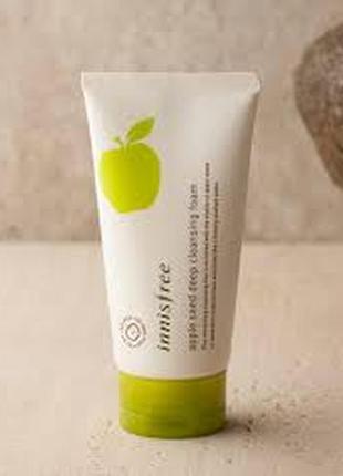 Пенка для умывания innisfree apple seed deep cleansing foam 150ml