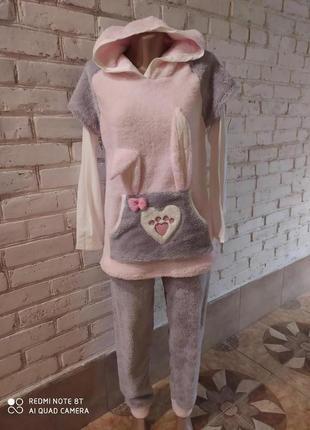 Супер теплая мягкая пижама