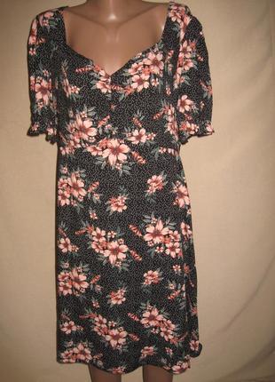Вискозное платье примарк р-р20